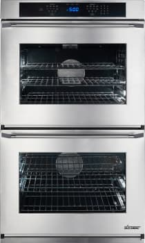 Dacor Renaissance RNO230S208V - Stainless Steel Double Wall Oven with Epicure Handle