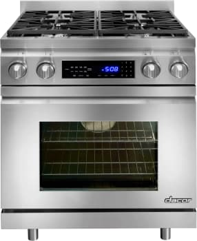 Dacor Distinctive DR30DHNGH - Dacor Dual-Fuel Range