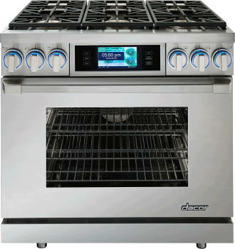 Dacor Discovery iQ DYRP36DCLPH - Dual Fuel Range from Dacor