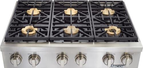 Dacor Discovery DYRTP366SNGH - 36 Inch Gas Rangetop from Dacor