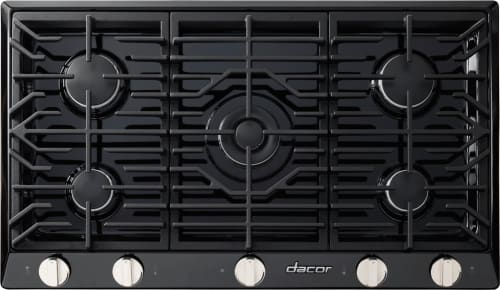 Dacor Renaissance RNCT365GBLP - 5-Burner Gas Cooktop in Black