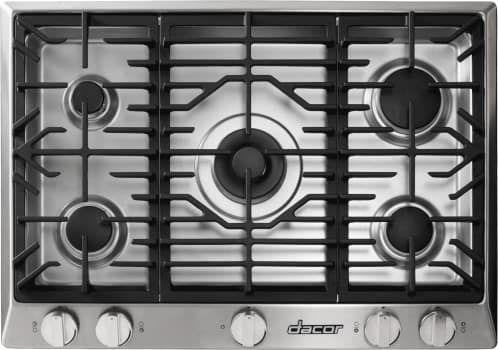 Dacor Renaissance RNCT365GSNGH - 5-Burner Gas Cooktop in Stainless Steel