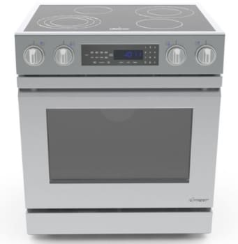 Dacor Distinctive DR30EI - Dacor Slide-In Electric Range with Flush Handle