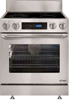 Dacor Distinctive DR30EIS - Dacor Slide-In Electric Range with Epicure Handle