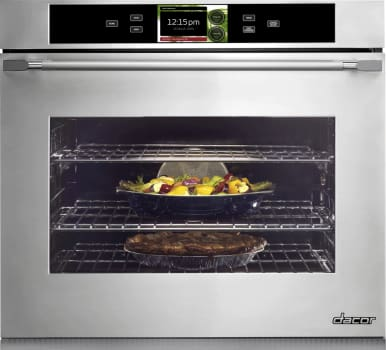 Dacor Discovery iQ DYOV130B - Dacor Electric Wall Oven (Stainless Steel + Epicure Handle Model Pictured Here)