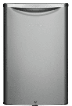 Danby Contemporary Classic Series DAR044A6DDB - 4.4 cu. ft. ENERGY STAR Compact Refrigerator in Silver