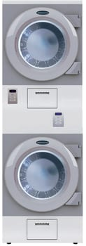 Crossover DAWS2GNM - 27 Inch Stacked Dryers, Non-Metered