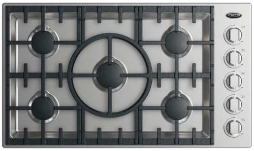 DCS CDV2365HL - 36 Inch Gas Cooktop with 5 Burners