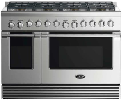 DCS RDV2488L - 48 Inch Dual Fuel Range with 8 Burners