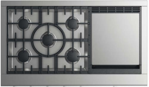 DCS CPV2485GDN - 5-Burner Cooktop with Griddle