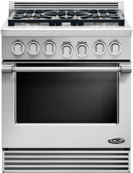 DCS Professional Series RGV2305L - DCS 30 Inch Professional 5-Burner Gas Range