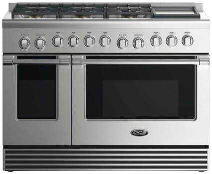 DCS RGV2486GD - 48 Inch Gas Range with 6 Burners and Griddle