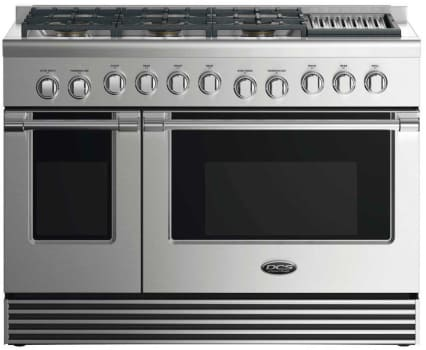 DCS RGV2486GLL - 48 Inch Gas Range with 6 Burners and Grill