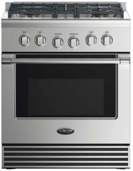 DCS RDV2304N - 30 Inch Dual Fuel Range with 4 Burners