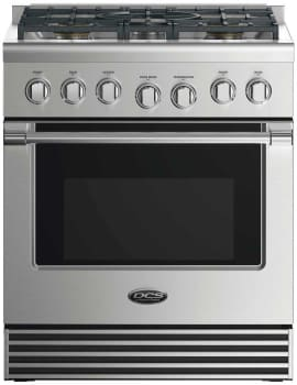 DCS Professional Series RDV2305N - 30 Inch Dual Fuel Range with 5 Burners