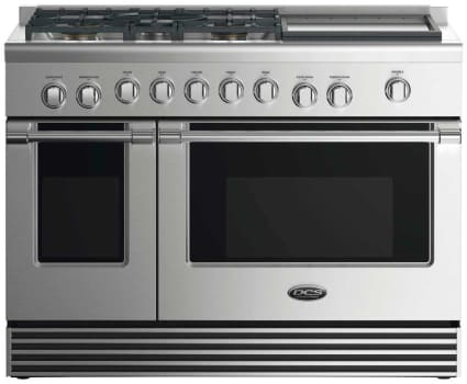 DCS RDV2485GD - 48 Inch Dual Fuel Range with 5 Burners and Griddle