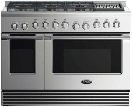 DCS RDV2486GL - 48 Inch Dual Fuel Range with 6 Burners and Grill