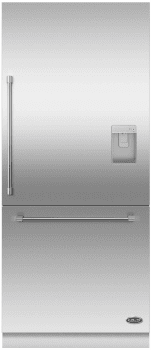 DCS RD3684RUC - Stainless steel door panel & handle kit with water dispenser 84""