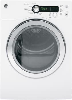 GE DCVH480EKWW - 24 Inch 4.0 cu. ft. Electric Dryer with 20 Dry Cycles