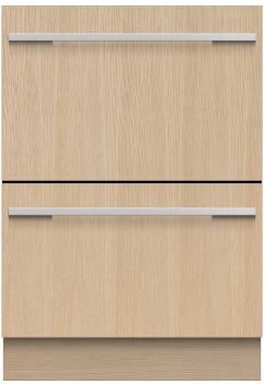 Fisher & Paykel DishDrawer Series DD24DI9N - Front View