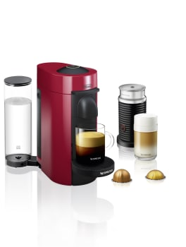 Nespresso Vertuo Line ENV150RAE - Red Front View