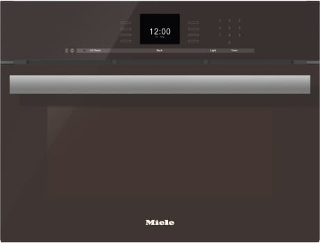 "Miele PureLine SensorTronic Series DGC6600XLHVBR - 24"" PureLine SensorTronic Combi-Steam Oven in Truffle Brown"