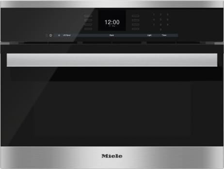 "Miele PureLine SensorTronic Series DGC660XL - 24"" PureLine SensorTronic Combi-Steam Oven in CleanTouch Steel"