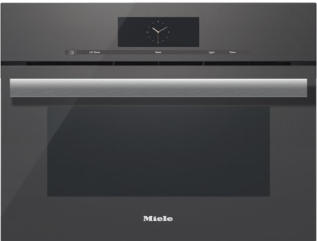 Miele PureLine M-Touch Series DGC68001XLGRGR - Front View