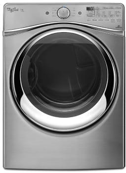 Whirlpool Duet WGD97HEDU - Diamond Steel Front View