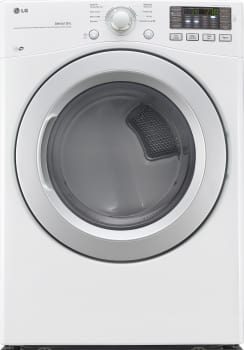 LG DLE3170W - 27 Inch Electric Dryer from LG