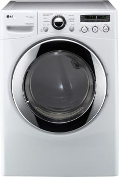 LG SteamDryer Series DLGX2651W - White