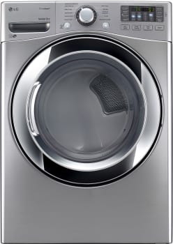 LG SteamDryer Series DLEX3370V - Graphite Steel without Pedestal