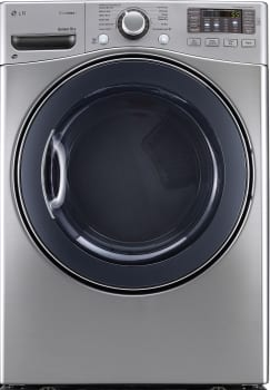 LG SteamDryer Series DLEX3570V - Front View