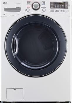 LG SteamDryer Series DLEX3570W - Front View