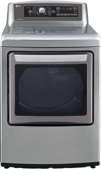 LG SteamDryer Series DLEX5780 - 7.3 cu. ft. Steam Dryer with Easy Load Door (also available in White!)