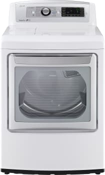 LG SteamDryer Series DLEX5780WE - Front View