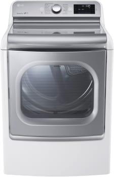 LG SteamDryer Series DLGX7711VE - White
