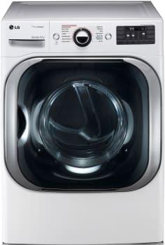 LG SteamDryer Series DLEX8100W - LG MEGA Capacity TrueSteam Dryer