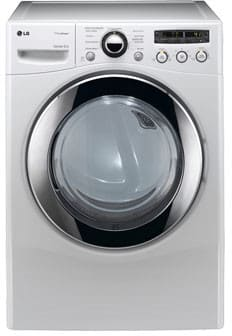 LG SteamDryer Series DLEX2550W - White