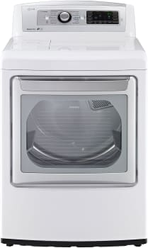 LG SteamDryer Series DLGX5781WE - Front View