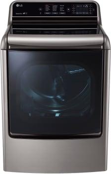 LG SteamDryer Series DLGX7711VE - Front View