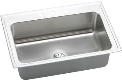 Elkay Gourmet Perfect Drain Collection Lustertone Collection DLRS332210PD1 - Featured View