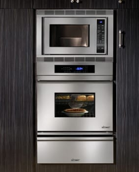 "Dacor Distinctive DO130 - Dacor 30"" Single Wall Oven featured between Microwave and Warming Drawer"