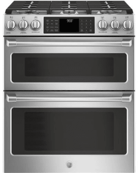 48bb54e42 GE CGS995SELSS 30 Inch Slide-In Gas Range with Double Oven