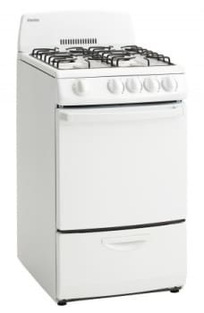 Danby DR200X - 20 Inch Freestanding Gas Range in White from Danby