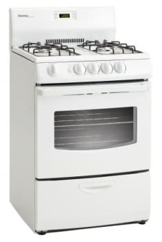 stove 24 inch. danby designer series dr241wglp - side view stove 24 inch