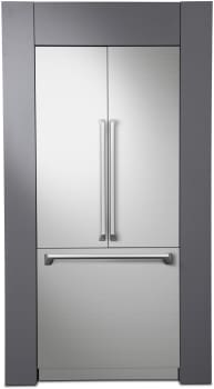 Dacor Modernist DRF367500AP - DRF367500AP - Dacor's 36-inch Modernist Series Panel-Ready French Door Refrigerator