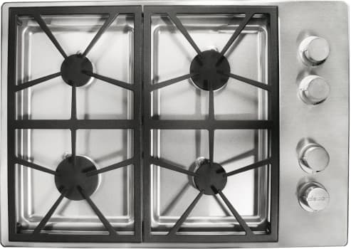 Dacor Distinctive DTCT304GSLPH - 4 Burner Gas Cooktop in Stainless Steel