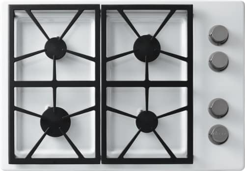 Dacor Distinctive DTCT304GWLP - 4 Burner Gas Cooktop in White