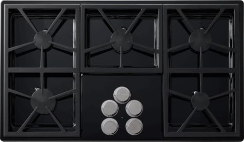 Dacor Distinctive DTCT365GBLPH - 5 Burner Gas Cooktop in Black